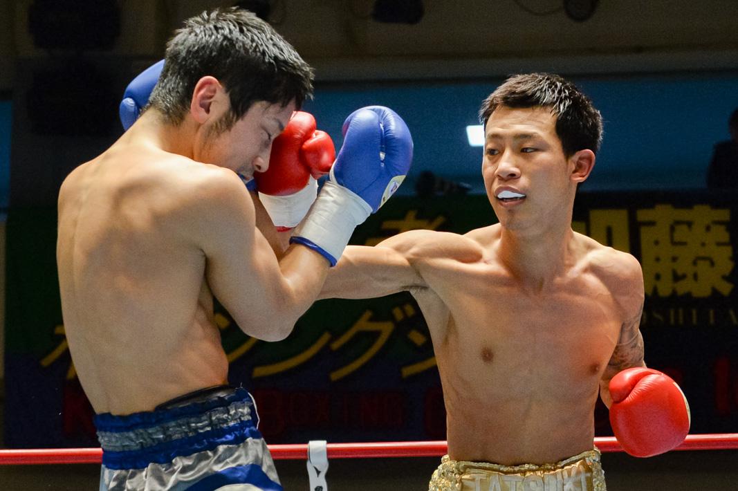 中川 勇太(角海老宝石) vs相馬 圭吾(三迫)