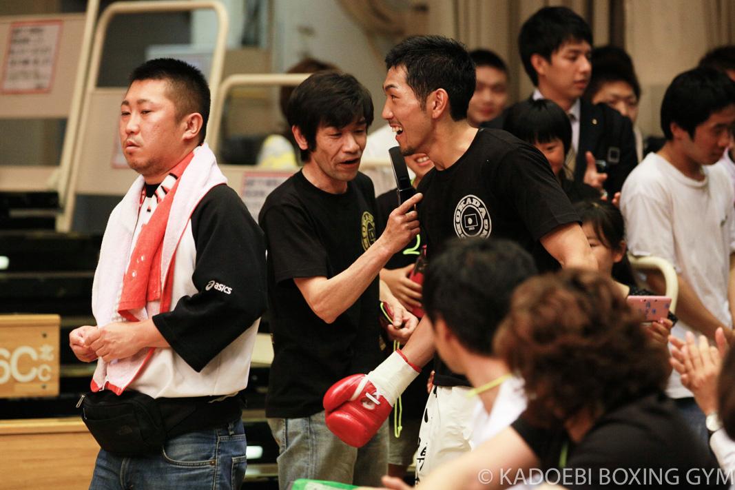 岡田 博喜(角海老宝石) vsヘリ・アンドリヤント(インドネシア)