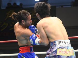 細川バレンタイン快勝 初回TKOで日本SL級V2
