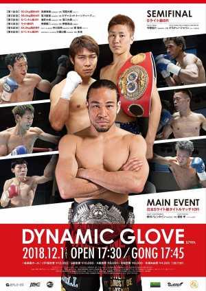 Dynamic Glove 579th(SLUGFEST.7) ポスター画像01