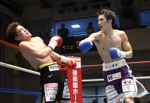 注目Fe級対決 丸田陽七太が溜田剛士に5回TKO勝ち