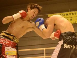 記事:中谷正義が風太を4回TKO OPBFライト級V11 大森将平は快勝で完全復活アピールの参考画像