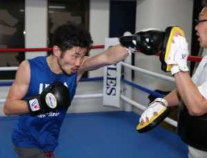 岩佐 再起戦へ仕上がり良好「ボクシングの本質を忘れてた」