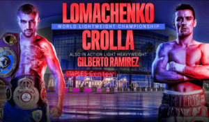 WBAスーパー・WBO・WBC世界ライト級タイトルマッチ ポスター画像01