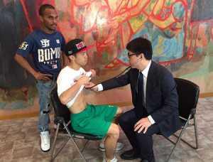 田中恒成とゴンサレスが予備検診 WBOフライ級戦
