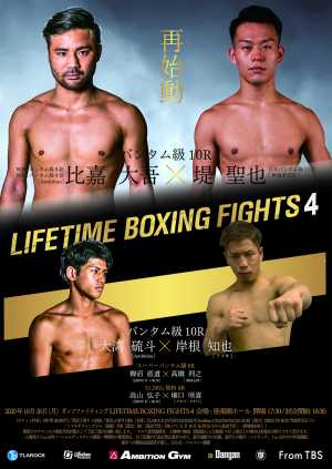 LITIME BOXING FIGHTS.4 ~Guts Fighting~ ポスター画像01