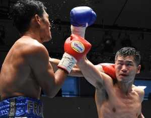 福永亮次がWBO9位のサルダール攻略  WBOアジアパシフィックS・フライ級王座獲得