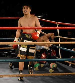19歳の佐々木尽が爆発 3連続初回KO勝ち  12.26日本ユースS・ライト級王座決定戦へ