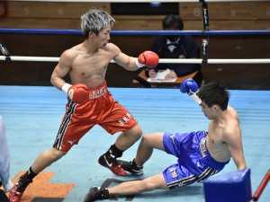 全日本新人王決勝戦 MVPは初回TKO勝ちの奈良井翼