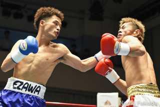 江澤 宏之(角海老宝石) vs林 慶太(10カウント) Photo by 福田直樹