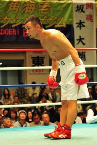 坂本 大輔(角海老宝石) vs田中 慎吾(西城)