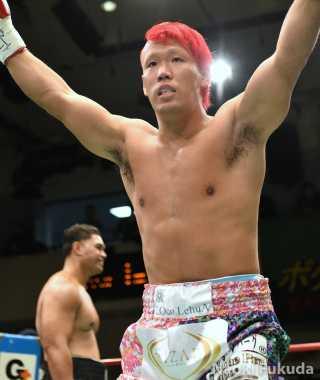 藤本 京太郎(角海老宝石) vsウィリー・ナッシオ(豪州)Photo by 福田直樹