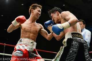 中川 勇太(角海老宝石) vs石本 康隆(帝拳)