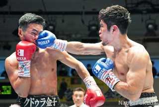 クドゥラ金子(本多)vs長濱 陸(角海老宝石)Photo by 福田直樹